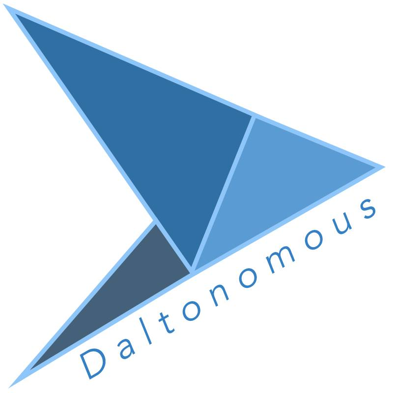 Daltonomous Logo with Text